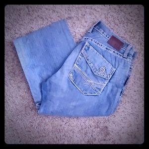 BKE Fulton boot cut mens jeans 34L